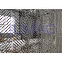 Quality Rust Resistance Half Sheer Metal Mesh Curtains For Hall Divider 1.0mm Wire for sale