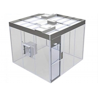 Quality Free Design Drawing ISO 8 Clean Room Booth / Class 100000 softwall Clean Room for sale