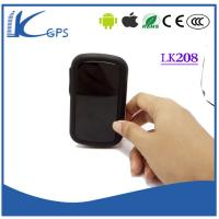 China World's Smallest High quality Real Time SMS GPS Tracking Gps Tracking Device For Car LK208 on sale