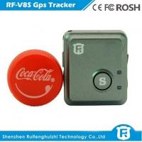 Quality gps mini tracker sos button device with one year battery reachfar rf-v8s for sale
