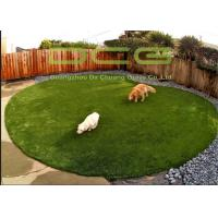 Quality Natural Looking Evergreen Artificial Grass For Pets No Dog Dug Holes for sale