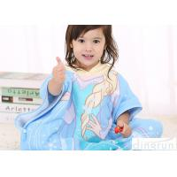 Animal Hooded Poncho Towels For Children Cotton / Polyester Material