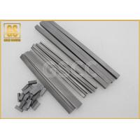 High Hardness Rectangular Carbide Blanks RX10 For Solid Wood / Dry Wood