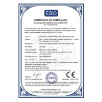 Wire And Cable Machine Certifications