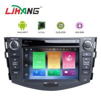 Quality Built - In GPS Toyota Touch Screen Car Stereo Player With Wifi BT GPS AUX Video for sale