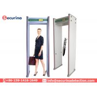 Quality 7'' LCD Display Archway Metal Detector Gate At Airport Walk Through Security Scanners for sale