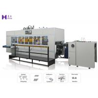 Quality High Frequency Automated Box Folding Machine Auto Feeding System for sale