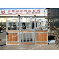 China horse riding equipment stable stall front wood panel gates for horse on sale
