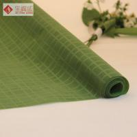 "Best 57"" / 58"" Width Warp Knitted Velvet Fabric Green Plain For Watch Box wholesale"