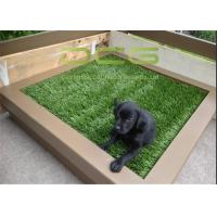 Quality Easy Installation Synthetic Artificial Grass Carpet / Plastic Grass Mat for sale