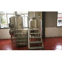 Quality Stainless Steel Craft Mini Brewery Equipment 500L With 2 Refrigeration Machine for sale