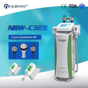 Quality Nubway Cryolipolysis Weight Loss Machine / Cryolipolysis Cool Shaping Beauty Machine for sale