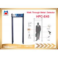 Quality High Security full body walk through door frame arched metal detector for sale