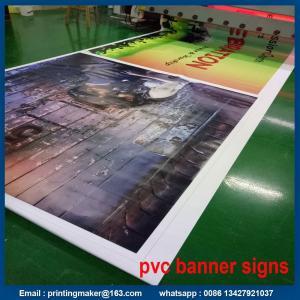 Quality 13 oz Custom Print PVC Vinyl Banner for sale