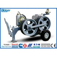 Best High Power Cable Stringing Equipment / Underground Cable Pulling Winch for Overhead Line wholesale