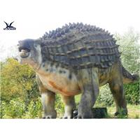 Quality Animatronic Outdoor Dinosaur Statues , Dinosaur Yard Decorations With Infrared Ray Sensor for sale