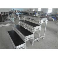 Aluminum Movable Portable Staging Systems Strong Loading For Audience Singing