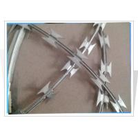Quality Steel Razor Barbed Wire PVC Coated Twisted Barbed Wire for sale