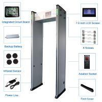 Quality High Sensitivity 33 Zones Walk Through Body Scanners for sale