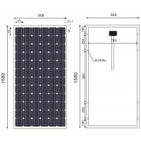 Quality 190 Watt Monocrystalline Solar Module For Grid - Connected Power Generation System for sale