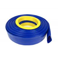 China High Pressure Flexible Hose , PVC Layflat Pump Water Hose / Pipe / Tube For Washing Drain on sale