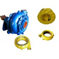 Quality High Chrome Alloy Sand Dredging Pump , Sand Removal Pump One Stage Structure for sale