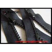 Quality #5 two way open O/E resin plastic zippers with paiting A/L sliders for garments pockets for sale