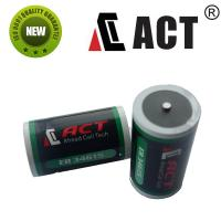 Quality ACT 3.6v D Size R20 Lithium Battery ER34615 LS33600 for sale