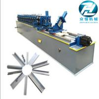 Buy cheap Galvanized Steel Metal Stud And Track Roll Forming Machine For C Z U L Channel Purlin from wholesalers