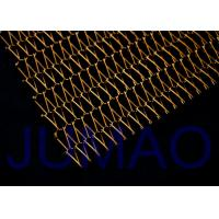 Quality Brass Flexible Architectural Metal Fabric Solar Protection For Roller Blinds for sale
