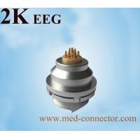 Quality Matel Push-pull self-locking connector Compatible Lemo K series Female connector EEG receptacle for sale