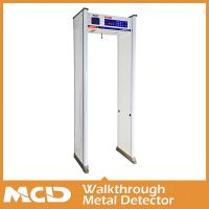 China Digital Modular Archway Metal Detector Remote Control walking through metal detector on sale