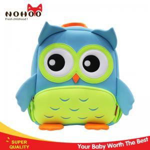 Quality Lovely owl desgin waterproof kids toddler backpack for boys girls for sale