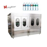 Buy Automatic Industrial Plastic Bottle Filling And Sealing Machine For Drinking Water at wholesale prices