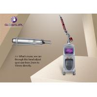 Buy cheap Q Switch ND YAG Laser Machine For Tattoo Removal / Skin Rejuvenation from wholesalers