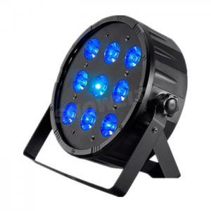 Quality 9*10W RGBWFlat Slim LED Par can 8CH Easy Dancing Par Lights , Plastic Housing Dj Led Par Light for sale