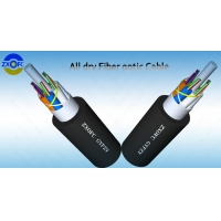 Quality LSZH 144core Flame Retardant Cable GYFZY Aerial Non Metal for sale