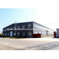Single Storey Steel Structure Warehouse Multifunctional Modular Design