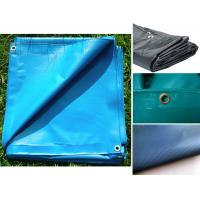 Quality Hot selling Waterproof tear-resistant PVC laminated tarpaulin for customized tarp with gromment for sale