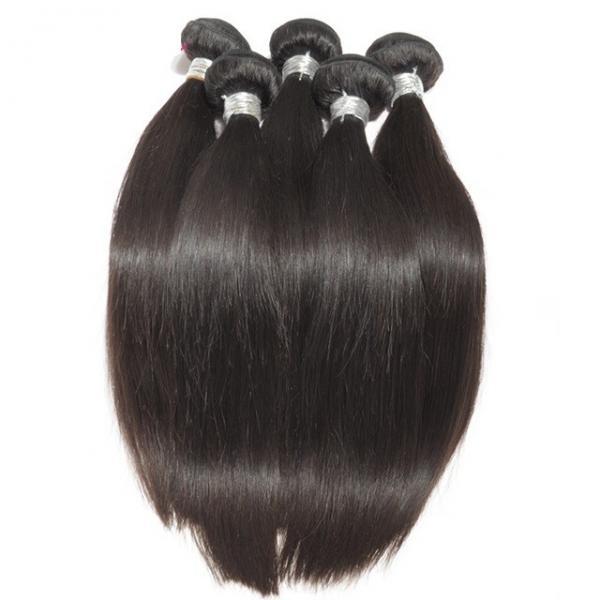 Buy Straight Virgin Human Hair Bundles Peruvian Hair Extension Full Cuticle No Acid at wholesale prices