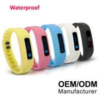 Best Bluetooth Watch Fitness Tracker 3D Bluetooth Bracelet Activity Tracker Pedometer wholesale