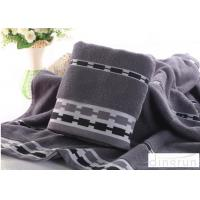 Quality Jacquard Style Microcotton Bath Towels Natural Anti Bacterial 400 Gsm for sale