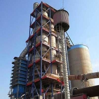 Quality Dry Process Cement Plant Five Stage Cyclone Preheater Tower for sale