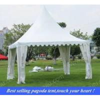 white outdoor pagoda tents 5x5m