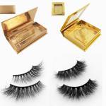 Quality Wholesale mink eyelashes vendor with custom eyelash packaging for sale