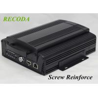 Quality 4G GPS WIFI  1080P AHD 4Ch HDD SD Card HIS Solution H.264 Vehicle mobile dvr for sale