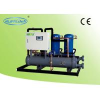 Quality Danfoss Open Type Commercial Chiller Units , 10.2KW - 156KW Water Cooling Water Chiller for sale