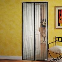Quality Fast Closing Pillar Magnetic Door Curtain / Anti Mosquito Curtain Durable for sale