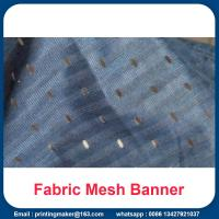 Quality Fabric Mesh Fence Banner Signs Wrap for sale