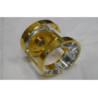 Professional  Custom Precision CNC Machining Services Gold Anodized For lights , toys
